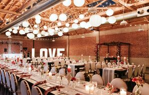 Industrial-Meets-Glam Reception at Sandbox in San Diego, California