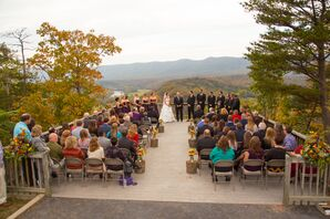 Fall Ceremony with Views of Massanutten Mountain