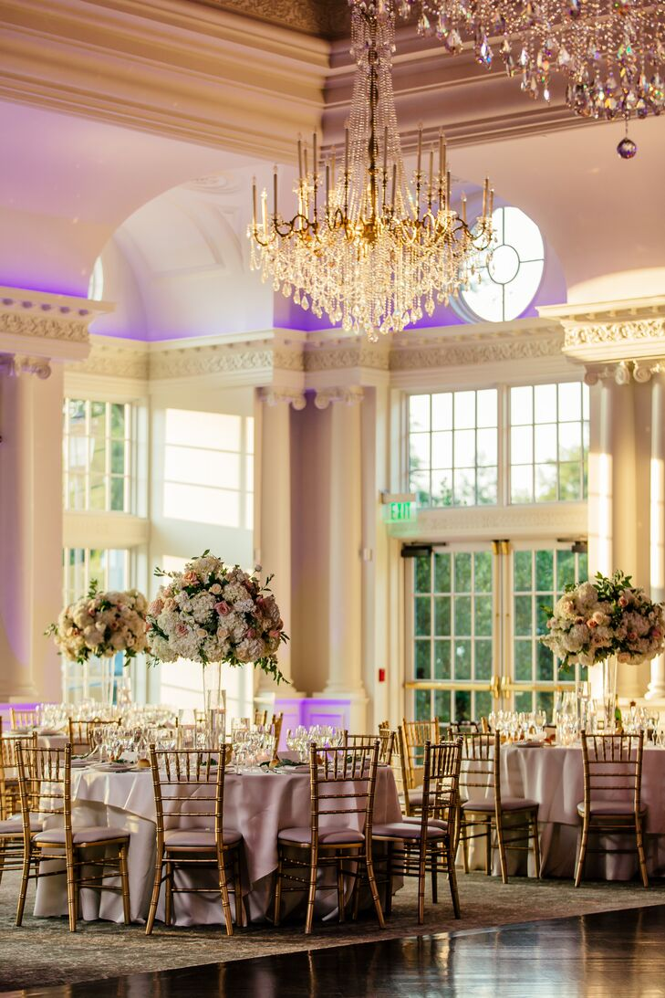 Glamorous Reception at Park Chateau Estate & Gardens in East Brunswick, New Jersey