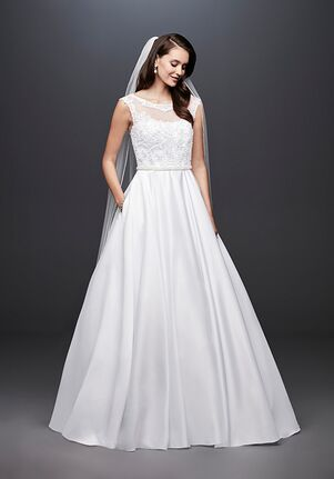 1ab750d63b7 David s Bridal David s Bridal Style WG3900 Ball Gown Wedding Dress