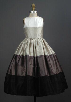 Elizabeth St. John Children Nicole Black Flower Girl Dress