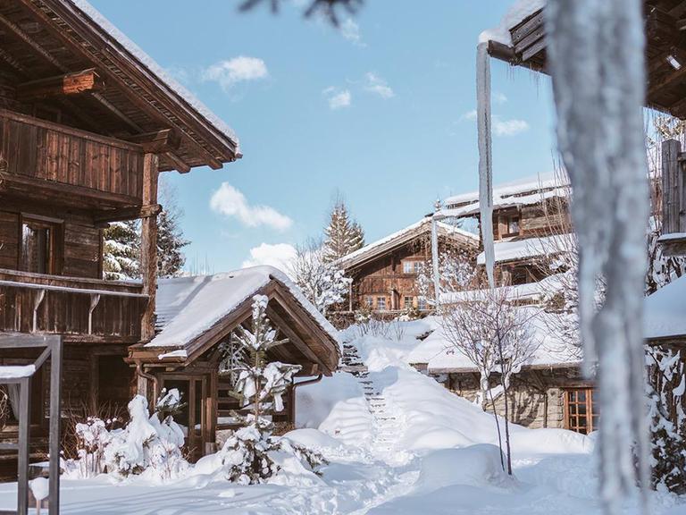 winter honeymoon destination Megeve, France