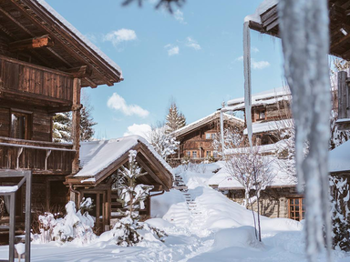 winter honeymoon destination Megeve, France