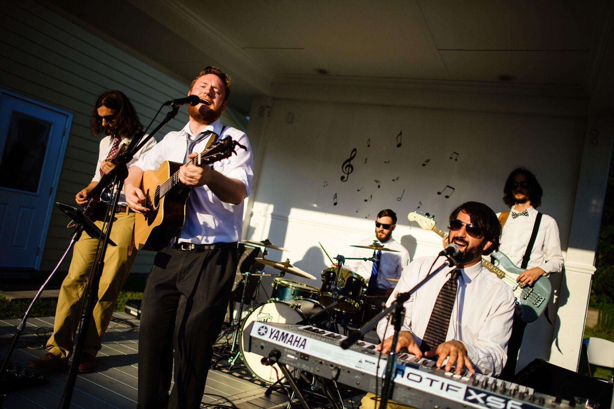 Live wedding bands asheville nc
