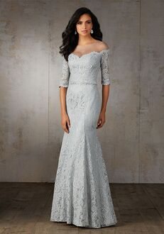 MGNY 71521 Silver Mother Of The Bride Dress