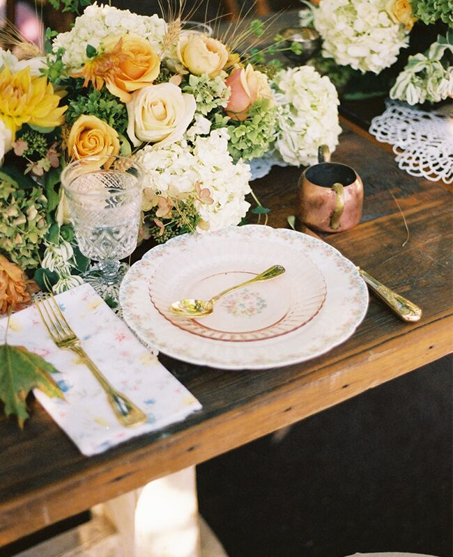 Audrey Roloff's place setting