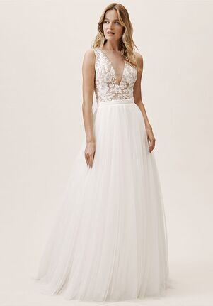 BHLDN Marian Top & Clarke Skirt A-Line Wedding Dress