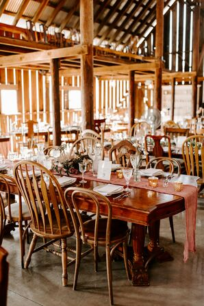 Boho-Chic Wedding Reception