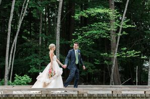 Waterfront Lake Winnipesaukee Wedding