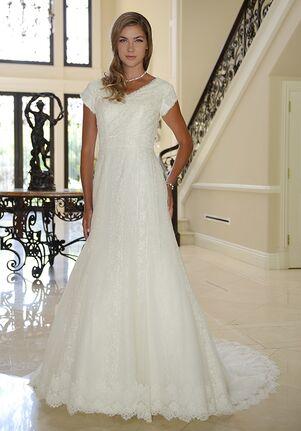 Venus Modest TB7750 A-Line Wedding Dress