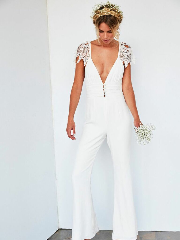 official store new products for clearance prices Bridal Jumpsuits and Wedding Pant Suits for Any Style or Budget
