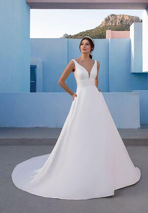 WHITE ONE ESSENTIALS MISTELTOE A-Line Wedding Dress
