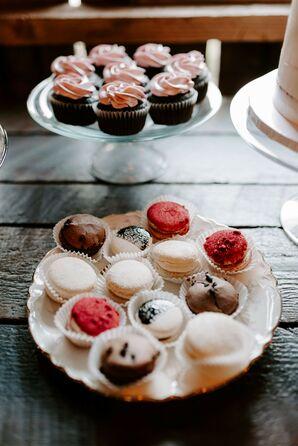 Dessert Table at Tin Roof Barn in White Salmon, Washington
