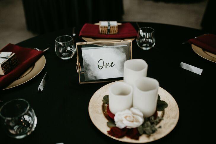 Table Décor for Urban Detroit Wedding