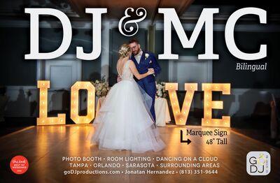 Go DJ Productions  / Bilingual DJs-Photo Booth-Lighting
