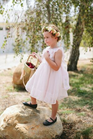 Whimsical Organza Flower Girl Dress