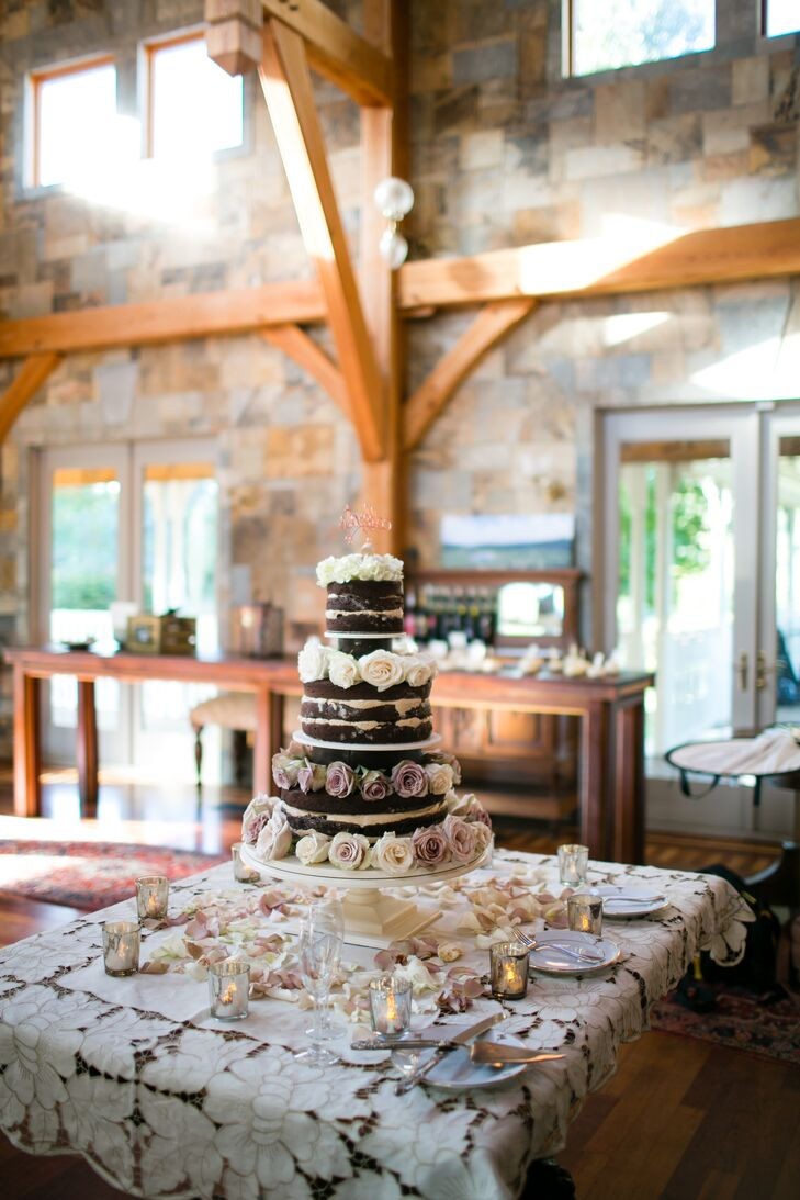 """Rustic Glam"" Wedding Reception Decor"