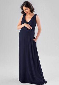 Kennedy Blue Evonne V-Neck Bridesmaid Dress