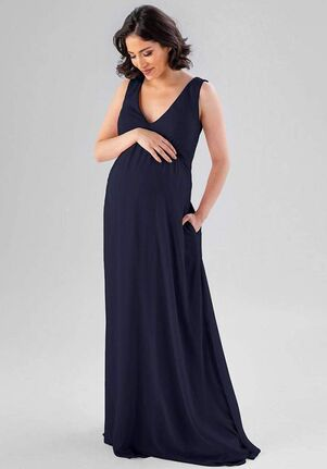 Kennedy Blue Evonne V-Neck Bridesmaid Dress