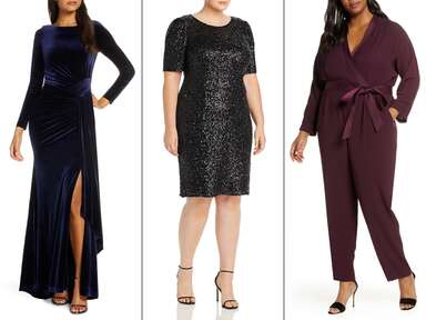 Winter wedding guest dresses and jumpsuit