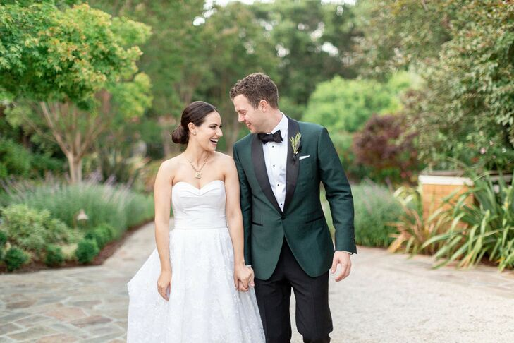 An Elegant Tuscan Inspired Backyard Wedding In Portola Valley