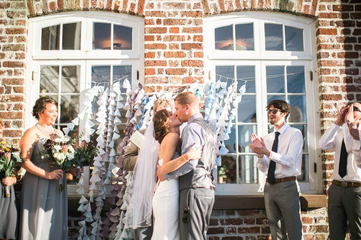 Historic Rice Mill Wedding Ceremony