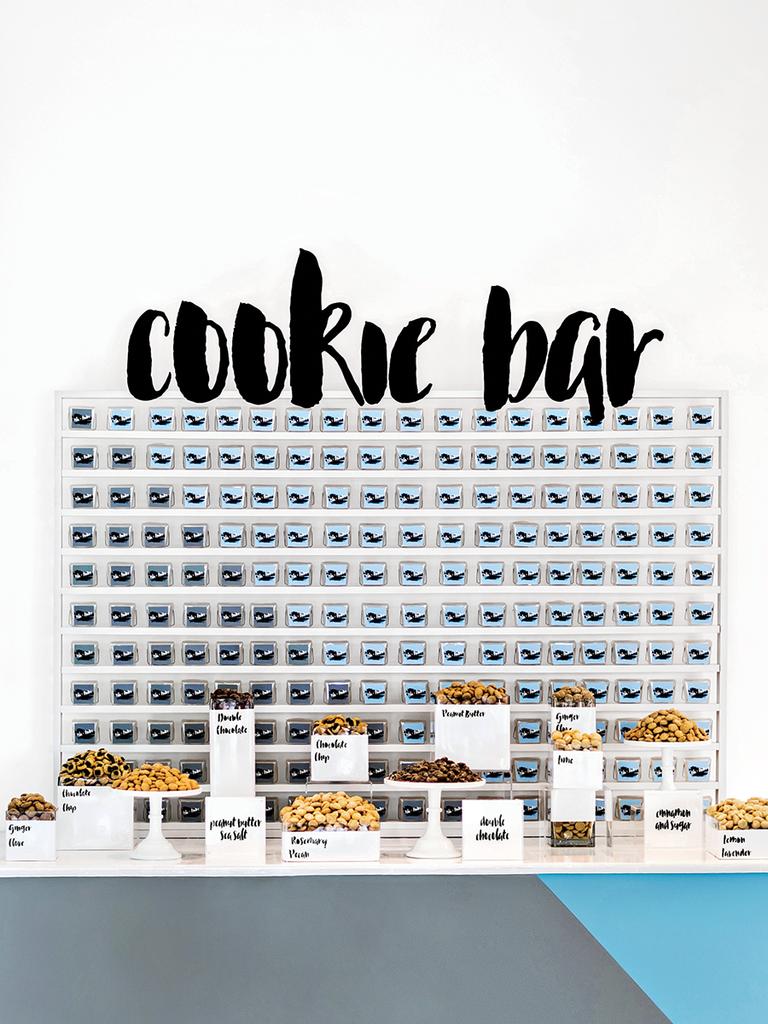 Sweet Ending cookie bar modern wedding detail