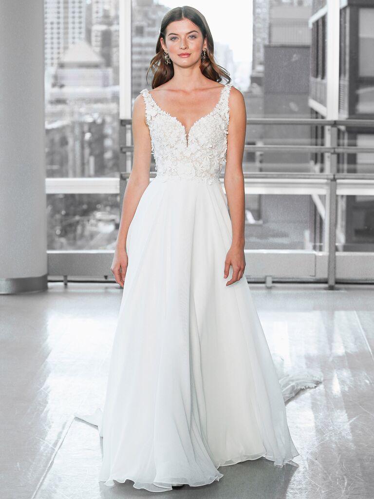 Justin Alexander Signature Wedding Dresses a-line dress