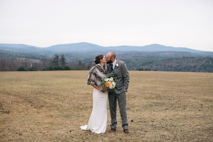 Gillian and Robin Wilton New Hampshire Wedding