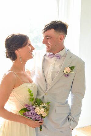 Low Bridal Updo