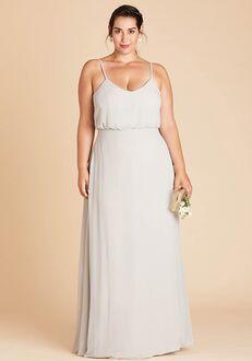 Birdy Grey Gwennie Dress Curve in Dove Gray Bridesmaid Dress
