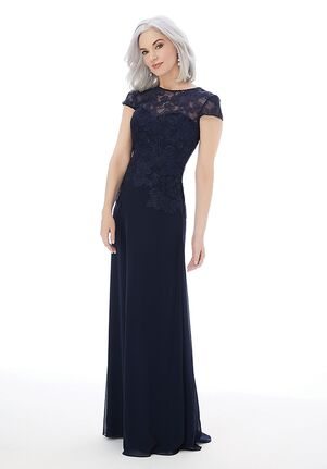 MGNY 72227 Blue Mother Of The Bride Dress