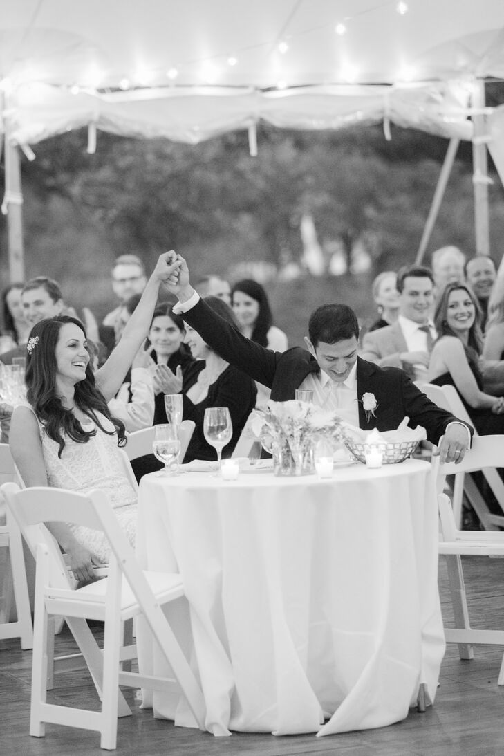 To kick things off on a fun note, Nicole and Jeremy choreographed a salsa dance for their introduction to the reception.
