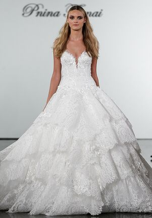 Pnina Tornai for Kleinfeld 4719 Ball Gown Wedding Dress