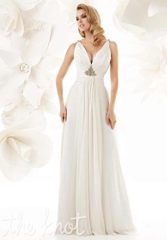 Simone carvalli 90009 wedding dress the knot for Wedding registry the knot