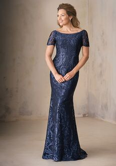 Jade Couture Mother of the Bride by Jasmine K208009 Blue Mother Of The Bride Dress