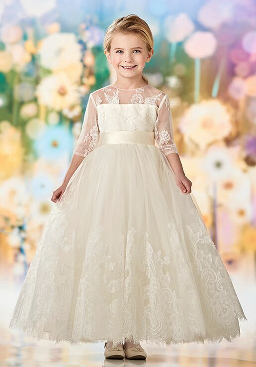 a4593cd70ba Joan Calabrese by Mon Cheri 218352 Flower Girl Dress - The Knot