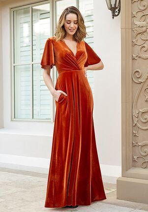 B2 Bridesmaids by Jasmine B233071 V-Neck Bridesmaid Dress