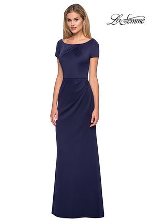 La Femme Evening 27067 Blue Mother Of The Bride Dress