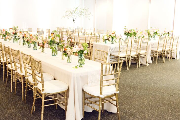 Elegant Lexington Municipal Center Wedding Reception