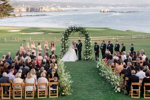Romantic Waterfront Ceremony at The Lodge at Pebble Beach