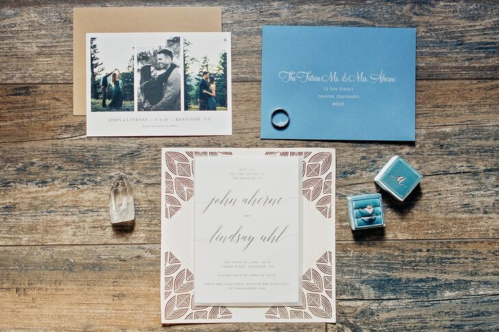 Rustic and Natural Wedding Invitations