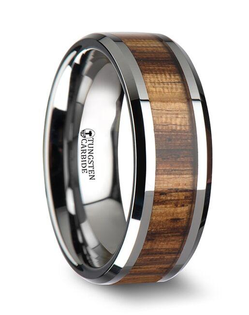 Mens Tungsten Wedding Bands W1896-ZBWI Tungsten Wedding Ring