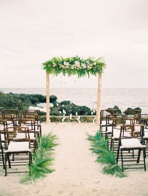 Palm Leaf Aisle Garlands