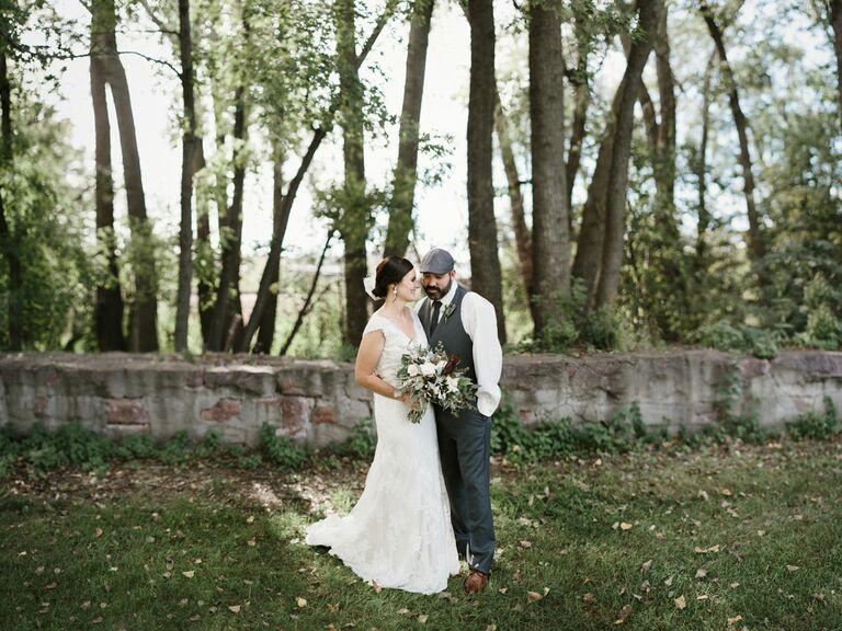 South Dakota forest wedding