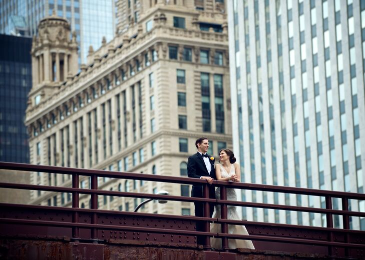 Vibrant summer romance meets rustic urban charm in the stunning Chicago wedding of Brielle Treece (28 and an associate program officer) and Jonathan O
