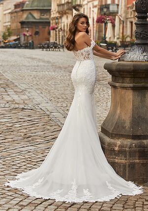 Moonlight Collection J6819 Mermaid Wedding Dress