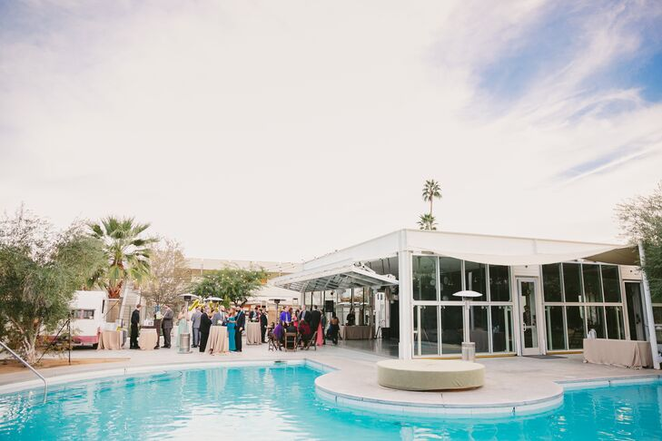 Ace Hotel Palm Springs Poolside Reception