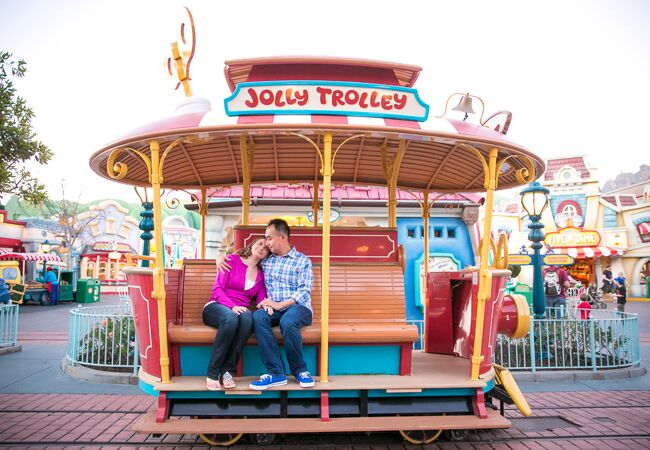 Toontown Engagement Session | [JG] Wedding Photography | From: Blog.TheKnot.com