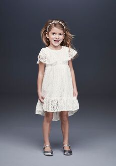 David's Bridal Flower Girl David's Bridal Style WG1399 Ivory Flower Girl Dress